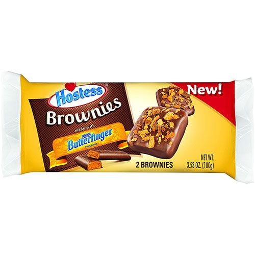 hostess butterfinger brownie