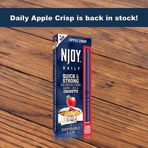 Apple Crisp Daily E-Cig