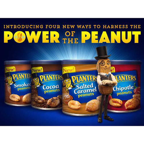 Kraft Foods Salted Caramel, Cocoa, Smoked and Chipotle Peanuts 2015 on planters holiday collection, planters peanut brittle mix, planters coupons, planters peanut bank, planters snack mix, planters brittle nut medley sale, planters peanut products, planters cashews, planters cheese balls return, honey roasted peanuts, 1 ounce of peanuts, planters peanut car, planters mr. peanut, planters peanut bar, planters flavored nuts, planters peanut butter, planters holiday pack, planters holiday mix, planters seasonal nuts, planters almond chocolate crunch,
