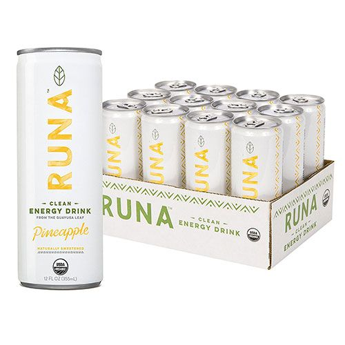 run clean energy drink mango