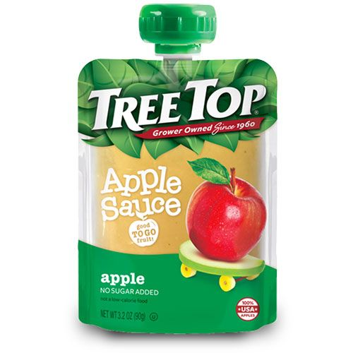 tree top clear applesauce pouch
