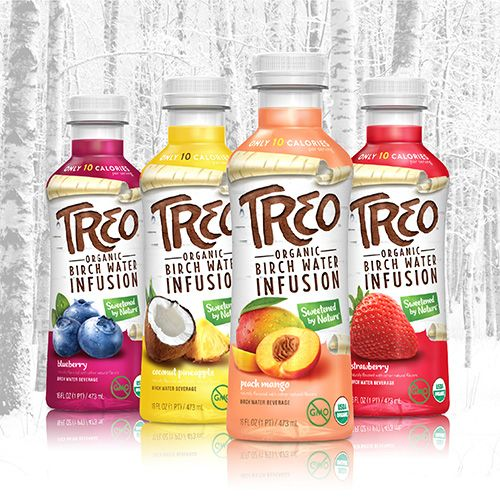 Treo Organic Birch Water Infusion