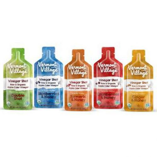 Vermont Village Artisan Cannery Raw Apple Cider Vinegar Shots