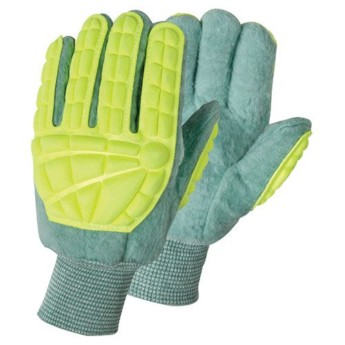 wells lamont industrial super green king striker gloves