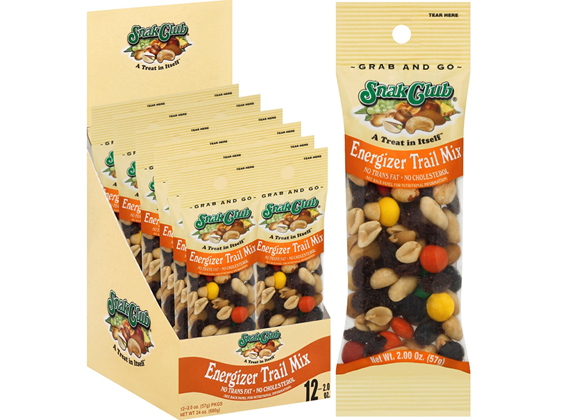 Snak Club Grab-and-Go Tube Nuts and Trail Mixes, McLane Co. Inc.