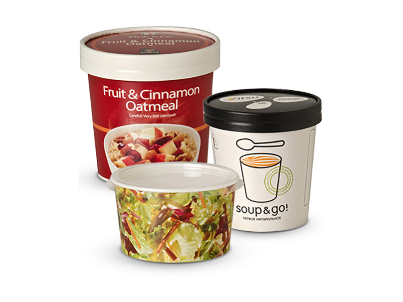 Paper To-Go Food Containers, Seda North America