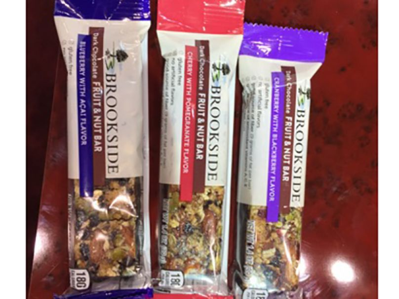 Brookside Dark Chocolate Fruit & Nut Bars