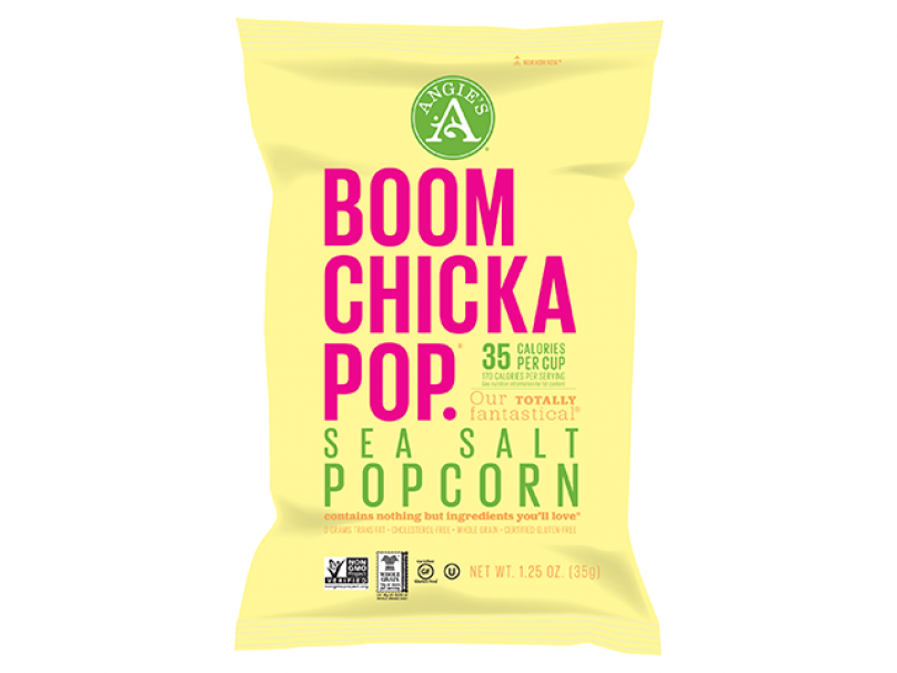 Angie's Boom Chicka Pop Sea Salt And Sweet & Salty Popcorn